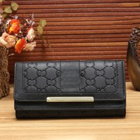 Wholesale Womens Wallets Leather - Hot Sell Wholesale and Retail 2017 New PU Leather Mens and Womens Luxury Brand Wallets Purse Card Holders (5 color for pick) Guc Handbags