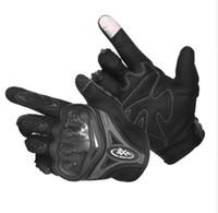 taichi yarış eldivenleri toptan satış-Motosiklet Eldiven Dokunmatik Ekran Nefes Giyilebilir Şövalye Koruyucu Eldiven Guantes Moto Luvas Alp Motocross Yıldız Gants Moto