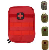 sacos médicos ao ar livre venda por atacado-Primeiros Socorros Saco Molle EMT Medical Cover Programa de Emergência Ao Ar Livre Pacote IFAK Utilitário de Viagem Pacote de Cintura Bolsa Multifuncional EDC Molle Ferramenta