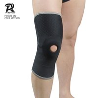 Wholesale pc honeycomb for sale - 1 pc Honeycomb Sports Safety volleyball Basketball Kneepad Compression Socks Knee Wraps Brace Protection Knee Pad
