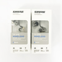 Wholesale headset noise canceling - Newest SE215 Wireless Earphones Headsets in-ear Earphones Bluetooth With Retail Box hifi Perfect Noise Canceling Separate Cable