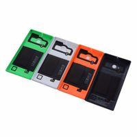 handygehäuse großhandel-Original Gehäuse Batteriefach für Nokia Lumia 730 735 Zurück Batterieabdeckung Fall Mit NFC Wireless Charging