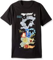 kartengehäuse großhandel-Hbo Spiel der Throne Männer Karte von allen Häusern Kurzarm T-Shirt