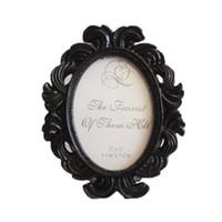 molduras venda por atacado-Decoração floral da foto do casamento do suporte da imagem do quadro do quadro da foto