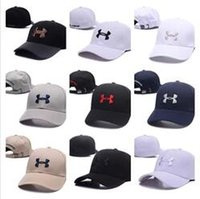 Wholesale Hip Hop Football - Good Fashion Brand UA Snapback Caps Casquette Adjustable Hats Football Men Women Hip hop fitted Basketball Baseball Hat Street Dancing bone
