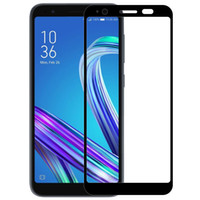 asus pc screen оптовых-MAKAVO For Asus ZenFone Live L1 ZA550KL Tempered Glass 9H Explosion-proof Screen Protector Film 2 PCS / Lot