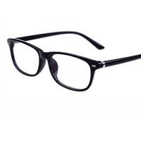 12bdb45f472c3 2018 Nova Moda Retro moldura de rebite Óculos de Armação Das Mulheres Dos Homens  Anti-Blu-ray Anti-radiação lente Armações de Óculos de Olho para Miopia ...