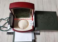 ingrosso scatola da orologi svizzeri-Moda Offshore Watch Original Box Papers Legno festival regalo Scatole Uso della borsa 15400 15710 15703 26703 26470 Swiss 3120 3126 7750 Orologi