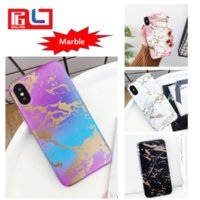 Wholesale Polish Marble - Marble Design Style Phone Case Dull Polish TPU Material for iphone Cover Case good feeling for touch Case Ship via DHL Free