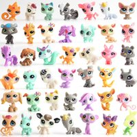 Wholesale plush couple doll - Pond plastic doll popular cartoon kawaii surprise doll cute little bear rabbit doll's cute little bell key ring couple funko pop squishy toy