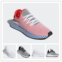 Wholesale newest casual shoes - 2018 Newest Originals DEERUPT RUNNER men Women Outdoor Jogging Classic Casual black red white Running Shoes Sports Sneakers Size 36-45
