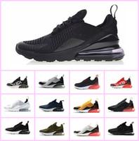 separation shoes b7586 f7480 HOT 2018 Vapormax 270 Air Run Chaussures de course Navy Hommes Blanc Noir  Entraîneur Sports Moyen Olive pas cher Femme seule 270S 27C Basketball  Sneakers