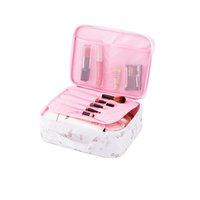 косметический бизнес оптовых-Fashion Beauty Lady Business  Bags Waterproof Oxford Cosmetic Tools Box Men Travel Wash Organizers Bags