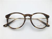 bea63bdfa5e2e Retro vintage de alta qualidade mulheres homens aro completo acetato armação  de óculos miopia designer óculos prescrição clara lente óculos