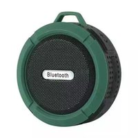 Wholesale Usb Bluetooth Device - C6 Portable Bluetooth Wireless Subwoofer Bass Waterproof IP65 Speaker With MIC TF Card Hands free call For bluetooth Devices