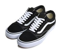 New Athentic Vans Classic Old Skool Canvas Mens Skateboard Designer Sports  Running Shoes for Men Sneakers Women Casual Trainers af556441efd