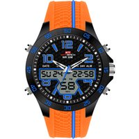 Wholesale big face sport men watch resale online - Black Digital Watch KAT WACH Brand New Football Face Sports Style Big Wrist Watch For Men