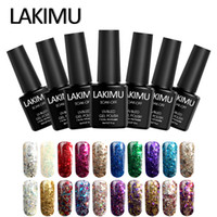Wholesale violet paint for sale - Group buy LAKIMU Semipermanente UV Gel Paint Hybrid Varnishes French Nail Art Design Nail Lacquer D Glitter Diamond Gel Polish