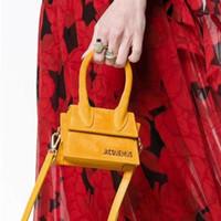 sacolas grandes mulheres venda por atacado-Big Handle Designer Simples Bolsa de Ombro Macio Fosco Quadrado Mulheres Sacos Crossbody Feminino Removível Alça de Ombro Pequenas Totes J307