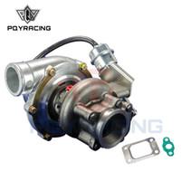 t25 brida turbo al por mayor-GT3076R CARGADOR TURBO INTERIOR WASTEGATE A / R: .70 / .50 frío, .86 caliente, t25 / 28 brida v banda PQY-TURBO33