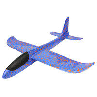 Wholesale glider toys for sale - Foam cm Color Hand Throwing Glider Cyclotron Kids Aircraft Model Toys Creative Mini Airplane For Kids Early Education mn Z