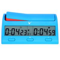 ingrosso contare orologio-Durable Count Down Timer Utile Multifuctional Digital Chess Clock Novità Gioco pratico Concorso Count Up Player