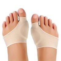 ingrosso grandi bunioni di raddrizzamento del piede-2 pezzi / paio alluce alluce valgo correttore plantari cura dei piedi osso regolazione del pollice correzione pedicure calzini borsite raddrizzatore shippin libero