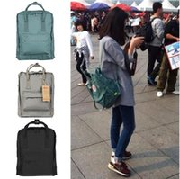 Wholesale canvas backpack for teenagers - New Brand Big classic mini backpack teenagers bag for boys and girls women High-quality waterproof backpack bag