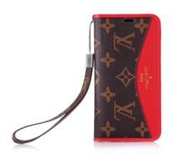 apfel iphone steht großhandel-Für Iphone 7 Handy Handytasche Abdeckung Luxus Business Leder Brieftasche Fall mit Stand Fotorahmen