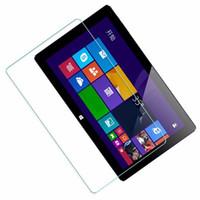 pc için şeffaf ekran toptan satış-Chuwi Vi10 Artı 10.8 Inç Film Tablet PC Filmi Için temperli Cam Ekran Koruyucu 2.5D Kenar 9 H Şeffaf Ultra-ince