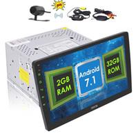 carro gps 2gb de bluetooth mp3 venda por atacado-Eredar Autoradio Duplo 2 Din Rádio Do Carro 10.1 '' unidade Cabeça Do Carro Estéreo Android 7.1 Nougat OS Octa-Núcleo 2 GB + 32 GB GPS Espelho Bluetooth