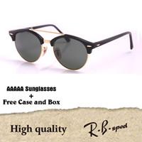 fc54127647 Luxury brand Fashion Cat Eye Sunglasses Men women Mirror Vintage Sun Glasses  Brand Designer Lentes De Sol Mujer Sunglass with case and box