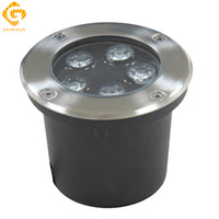 Wholesale Dc 12v Buried - LED Underground Lamps 5W 12V IP67 Buried Recessed LED Outdoor Ground Garden Path Floor Yard Lamp Landscape Light RGB Engineering Lights