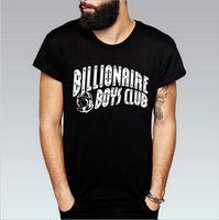 Wholesale men tshirt collar short sleeve - Fashion T Shirts For Men Hip Hop Cotton Blend Mens Clothing Tshirt Round Collar billionaire Man Tops Summer Short Sleeve Shirt With Letter