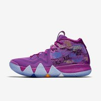 Wholesale Green Confetti - Kyrie 4 EP Men Basketball Shoes Kyrie Irving 4 Confetti Running Shoes for Sale New Irving 4s IV Red Green Yellow Grey Sports Sneakers