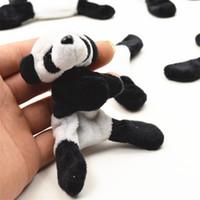 nota pequeña al por mayor-Creativo Plush Panda Imanes de nevera Lovely Cartoon Sticky Note Characteristic Mini Pandas Pequeño Regalo Turismo Keepsake 3 3zj Y