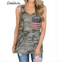 Wholesale Low Cut Tank Tops - 2018 Summer Sexy Low-cut Basic T-shirts Tank Top Solid Cotton Sleeveless Tops Women's Vest