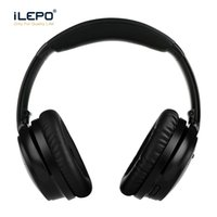 Wholesale Noise Sounds - Wireless bluetooth Foldable Headphones Headsets with high quality stereo sound headphones Earphones built ANC function enjoy music freedom