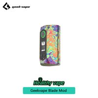 Wholesale support for batteries - Geekvape Blade TC Box MOD Powers Up to 235W for Geekvape Aero Tank Atomizer Supports dual 18650 20700 21700 batteries 100% Original