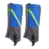 leggings escuros venda por atacado-LUCKSTONE 1 Par Waterproof Bota de Neve Leg Leggings Inclui resistente Caminhadas Outdoor Escalada (Dark Blue Gray)
