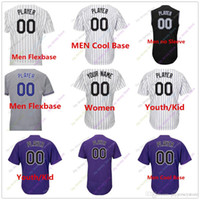 Wholesale Base Blank - Custom Blank Colorado Jersey Men Women Youth Baby toddler Size S, 4XL, 5XL Flexbase Cool Base Home Away All Stitched