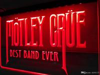 ingrosso best band ever-LA328r- Best Band Ever Motley Crue LED Luce al neon