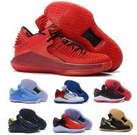 Wholesale heat cream - Luxury 32 Basketball Shoes Low Mens Mike 32s XXXII Black UNC Gatorade Bred Win Like 86 Sport Zapatos Designer Sport Trainer Shoe Sneakers