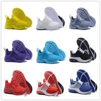 Wholesale body breathe - 2018 New PRESTO BR QS Breathe Yellow Black White Mens prestos Shoes Sneakers Women Running Shoes For Men Sports Shoe Walking designer shoes