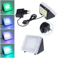 Wholesale Sensor Timer - Fake TV LED Security Sensor Light Built in Light Sensor+Timer Burglar Deterrent Home Security Night Light TV Sensor Fake TV 10pcs