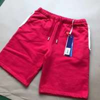 Wholesale women s beach pants cotton - OF Luxury Brand Designer Casual Shorts Simple Fashion Loose Straight Sport Pant Summer Beach Street Solid Men Women Short Pants HFYMKZ018