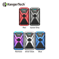 Wholesale best light box resale online - Kangertech XLUM W TC Box MOD with Bouncing Colorful Lights No Battery Best for XLUM Tank ml E cig TC MOD