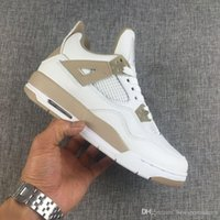 Wholesale Men Company - 2018NEW Air J4S Sway Men's basketball shoes Women Leather sneakers Sports trainers running shoes for men designer company level Size 7-