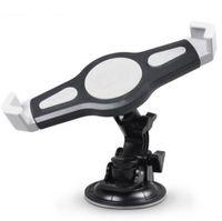 ipad hava tutacağı ayak aparatı toptan satış-Dönen Araç Montaj Tablet Tutucu Standı Evrensel 7