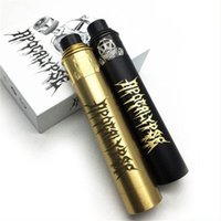Wholesale vape mechanical gold resale online - High Quality Apocalypse Gen Starter Kit with apocalypse GEN Mechanical Vape Mod RDA Atomizer Black Gold Colors Vaporizer